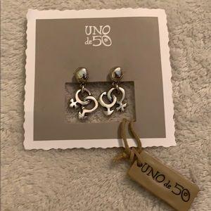 Uno de 50 earrings